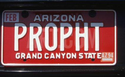 Vanity License Plate - Arizona