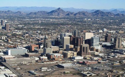 Downtown Phoenix, Arizona with