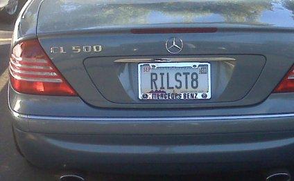 Realtor License Plate