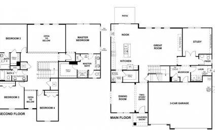 Richmond american homes floor