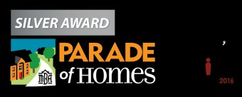 Demlang Builders - Parade of Homes individuals preference Silver Award Winner