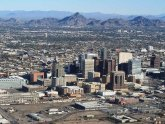 Map Phoenix AZ and surrounding area